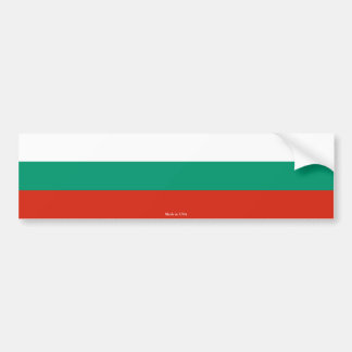 Bulgarian Flag Bumper Sticker