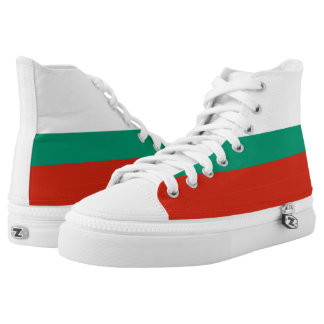 Bulgarian Flag High Tops