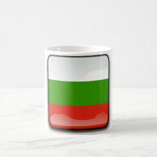 Bulgarian glossy flag coffee mug