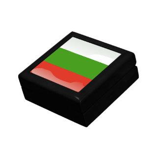 Bulgarian glossy flag keepsake boxes