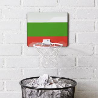 Bulgarian glossy flag mini basketball hoop