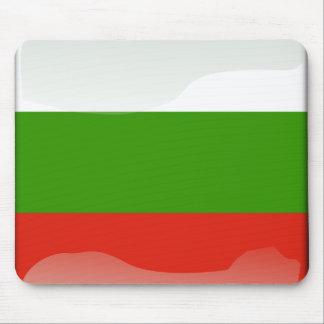 Bulgarian glossy flag mouse pad