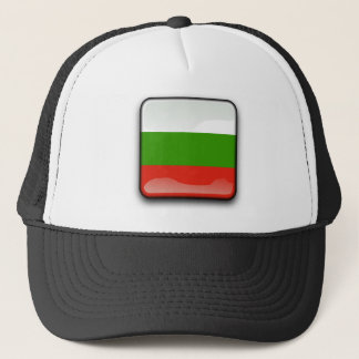 Bulgarian glossy flag trucker hat