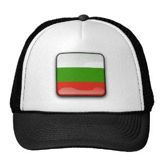 Bulgarian glossy flag trucker hat