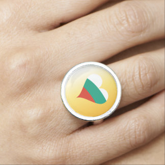 Bulgarian heart ring