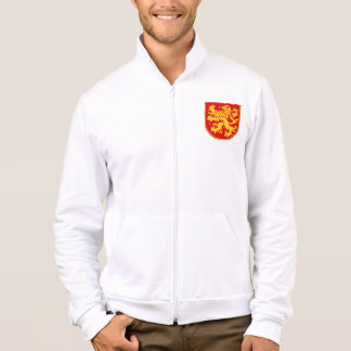 Bulgarian Lion Shield Men's Fleece Jacket