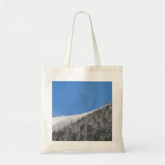 Bulgarian Mountain Snow Tote Bag
