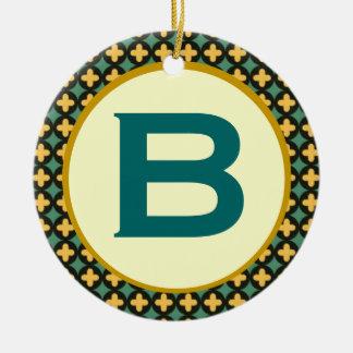 Bulgarian Orthodox Monogram Ceramic Ornament