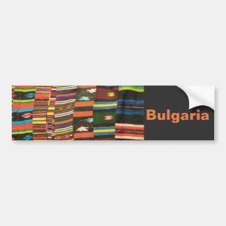 Bulgarian Rug/Cherga Bumper Sticker