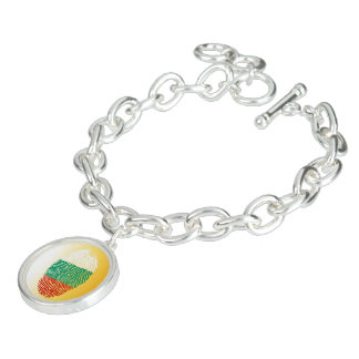 Bulgarian touch fingerprint flag bracelet