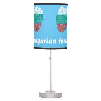 Bulgarian touch fingerprint flag desk lamp