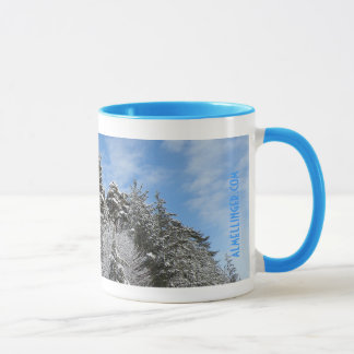 Bulgarian Winter Mountains Mug 2