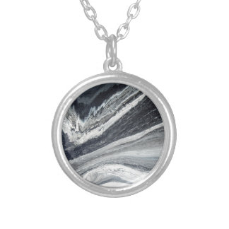 Bulge Silver Plated Necklace
