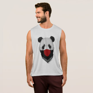 Bulging bear Japanese soldier Tank Top