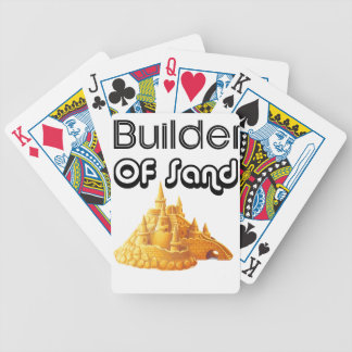 Bulider Of Sand Castles Bicycle Playing Cards