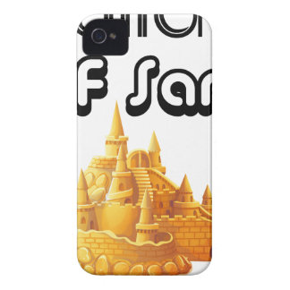 Bulider Of Sand Castles iPhone 4 Case-Mate Cases