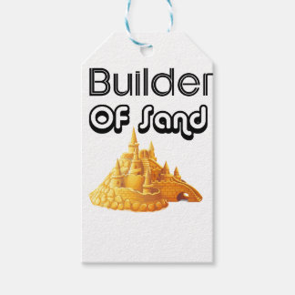 Bulider Of Sand Castles Pack Of Gift Tags