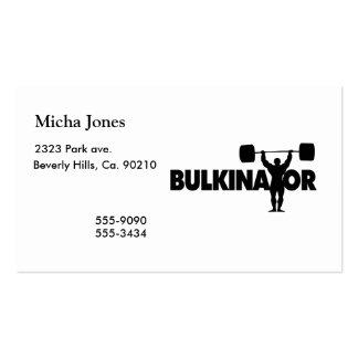 Bulkinator Business Card