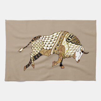 Bull 1 kitchen towel