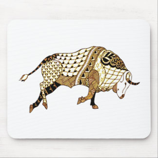 Bull 1 mouse pad