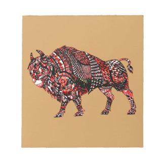 Bull 2 notepad