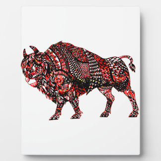 Bull 2 plaque