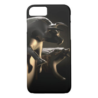 Bull And Bear Market Statues Case-Mate iPhone Case