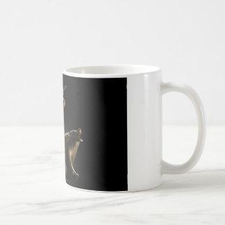 Bull And Bear Market Statues Coffee Mug