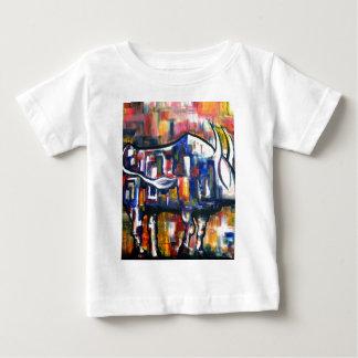 Bull at Sunset Baby T-Shirt