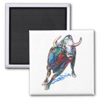 Bull by Natalia KURUCH Magnet