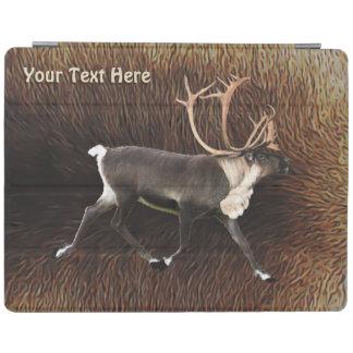Bull Caribou (Reindeer) iPad Cover