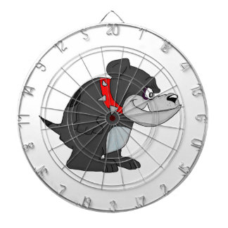 Bull dog dartboard
