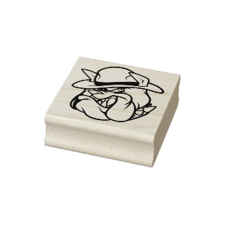 BULL DOG MC RUBBER STAMP