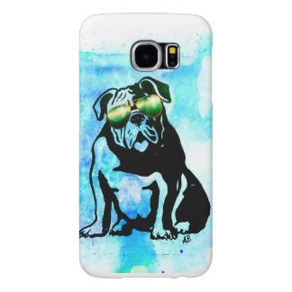 Bull dog phone case