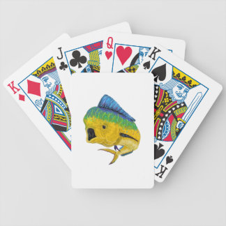 BULL DOLPHIN WAYS BICYCLE PLAYING CARDS