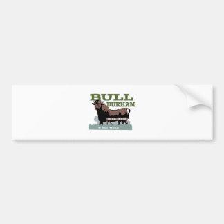 Bull Durham Bumper Sticker