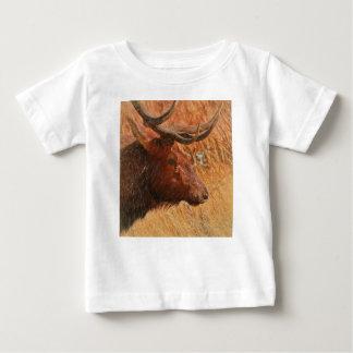Bull Elk Baby T-Shirt