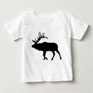 Bull elk black baby T-Shirt