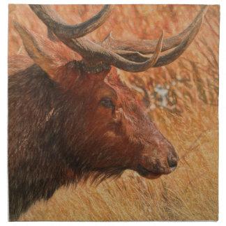 Bull Elk Napkin
