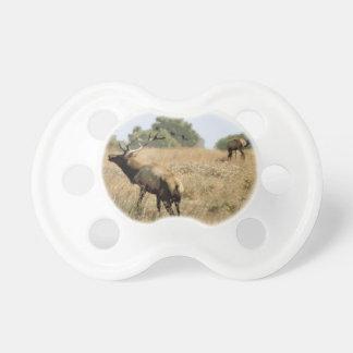 Bull Elk Pacifiers
