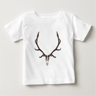 Bull elk skull color baby T-Shirt