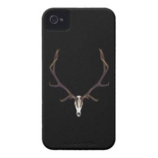 Bull elk skull color Case-Mate iPhone 4 case