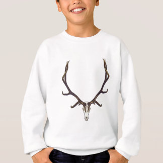 Bull elk skull color sweatshirt