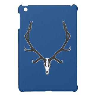 Bull elk skull European mount, bw iPad Mini Case