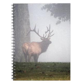Bull Elk Spiral Note Book