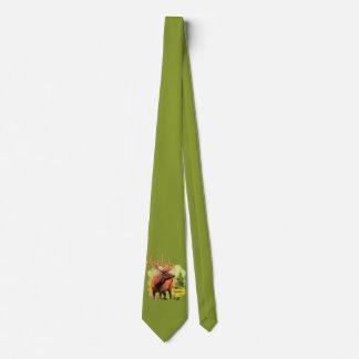Bull Elk Wildlife Tie