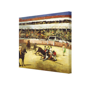 Bull Fight, 1865 Canvas Prints
