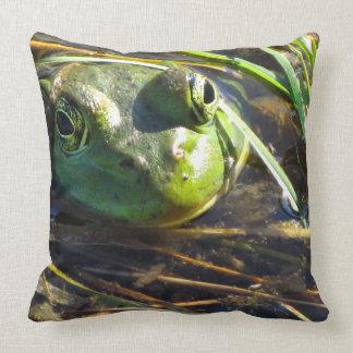 Bull Frog Pillow