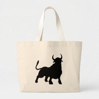 Bull Large Tote Bag