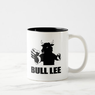 Bull Lee Two-Tone Coffee Mug